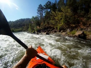 Kayaking Cache Creek