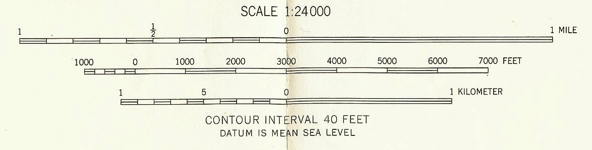 The Map Scale Appears On The Bottom Center Of The Map And Is Listed As 1 24 000 Meaning That Any Measure Of The Map Would Be Expanded By 24 000 To Match