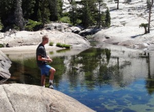Brian Trout Fishing