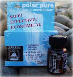 Polar Pure Water Disinfectant by Polar Equipment