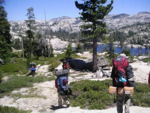 Backpacking in Sierra