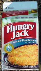 Hungry Jack Hashbrowns in Box