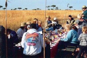 Wilderness Banquet Table