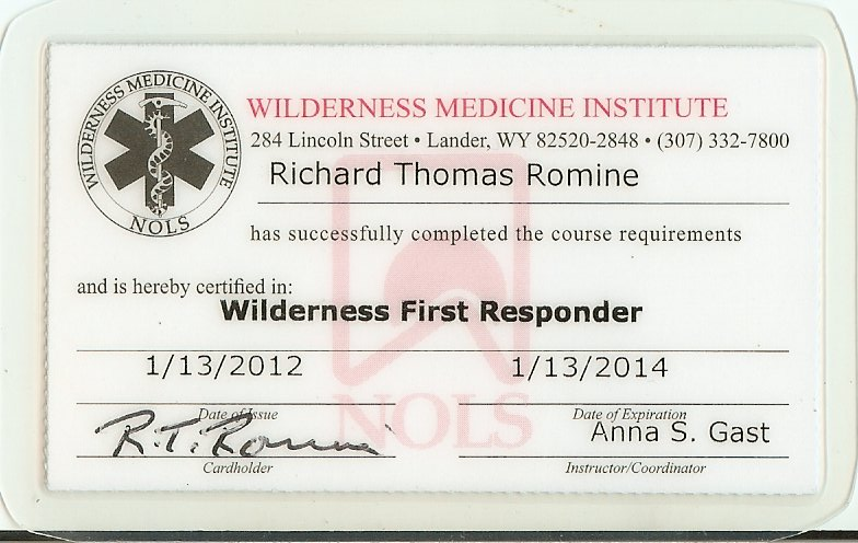 wfr: how to become a wilderness first responder (wfr ...